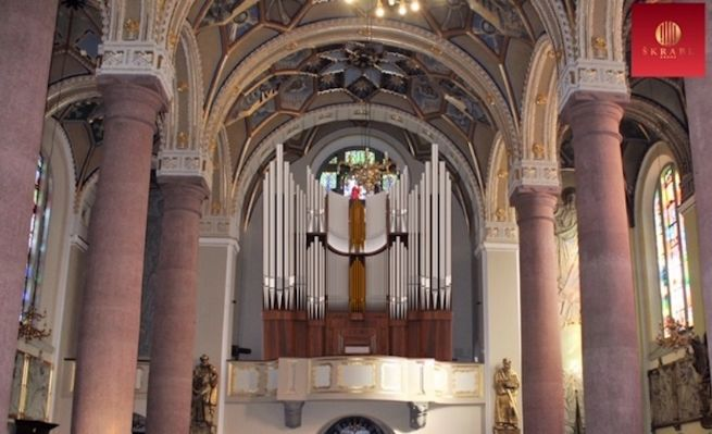 Skrabl organ for the Basilica of Our Lady of Sorrows in Limanowa, Poland.